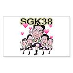 sgk38a Sticker (Rectangle)