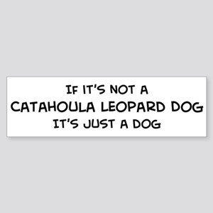 Catahoula Leopard Dog Bumper Sticker
