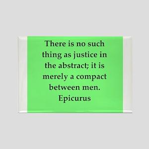 Wisdon of Epicurus Rectangle Magnet