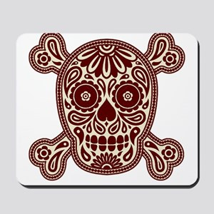 Brown Sugar Skull Mousepad