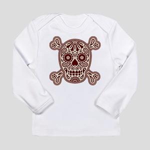 Brown Sugar Skull Long Sleeve Infant T-Shirt