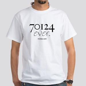 70124 ever White T-Shirt