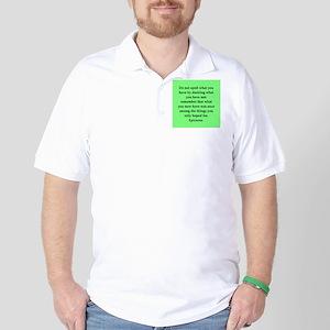 Wisdon of Epicurus Golf Shirt