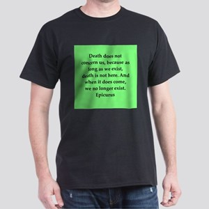 Wisdon of Epicurus Dark T-Shirt