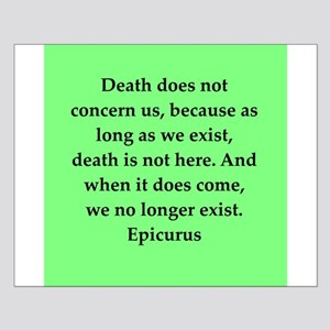 Wisdon of Epicurus Small Poster