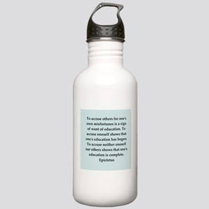 Wisdon of Epictetus Stainless Water Bottle 1.0L