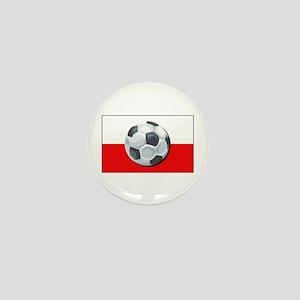 Poland Soccer Mini Button