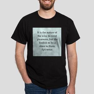 Wisdon of Epictetus Dark T-Shirt