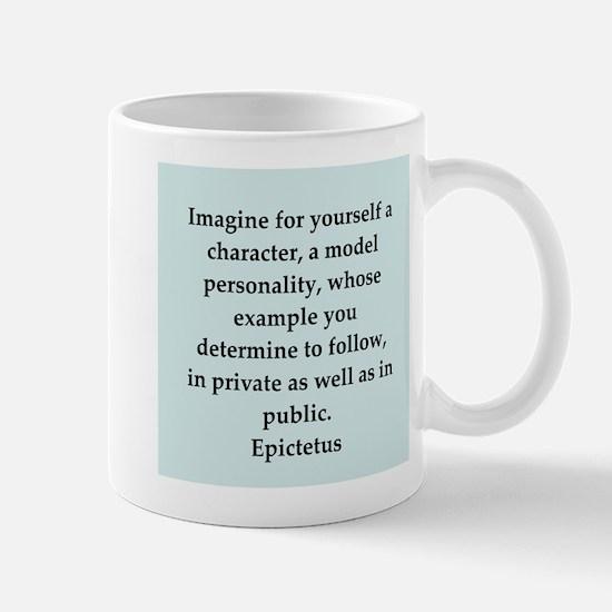 Wisdon of Epictetus Mug
