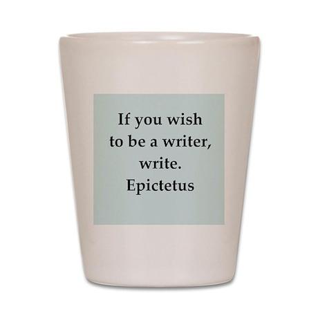Wisdon of Epictetus Shot Glass