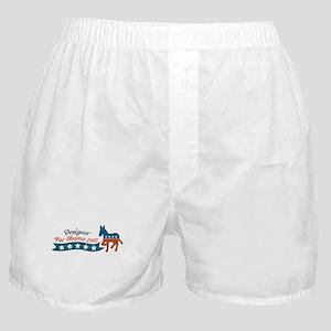 Designer for Obama Boxer Shorts