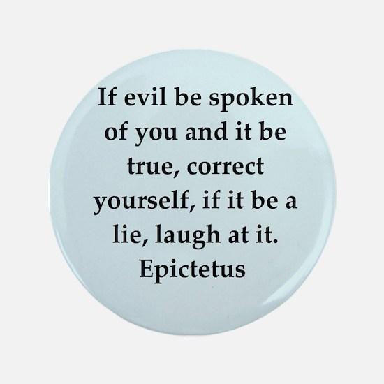 """Wisdon of Epictetus 3.5"""" Button"""