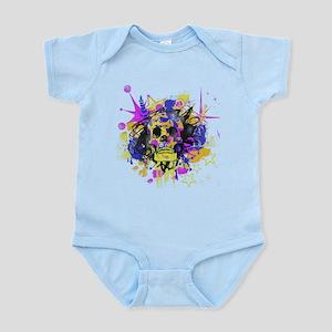 Grunge Skull Infant Bodysuit