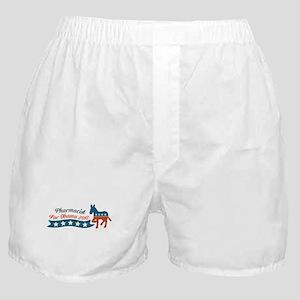 Pharmacist for Obama Boxer Shorts