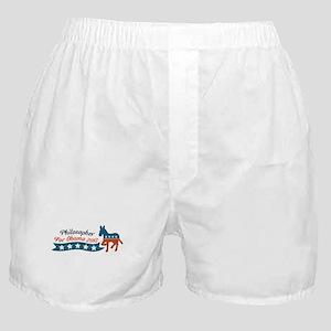 Philosopher for Obama Boxer Shorts
