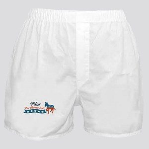 Pilot for Obama Boxer Shorts