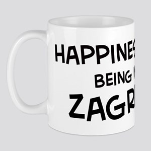 Happiness is Zagreb Mug