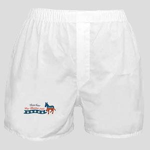 Teacher for Obama Boxer Shorts