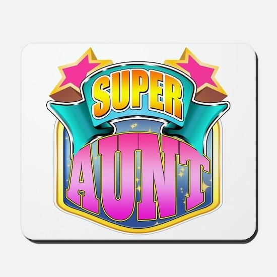 Pink Super Aunt Mousepad