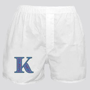 K Blue Glass Boxer Shorts
