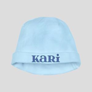 Kari Blue Glass baby hat