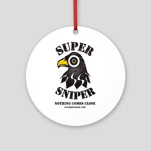 Super Sniper Ornament (Round)