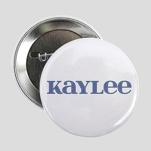 Kaylee Blue Glass Button