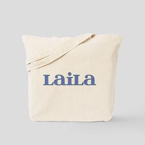Laila Blue Glass Tote Bag