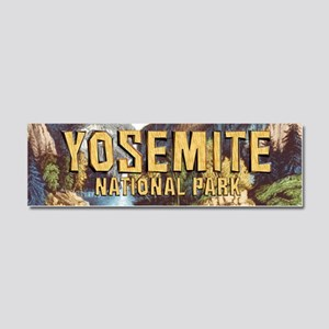 Yosemite Americasbesthistory.com Car Magnet 10 x 3