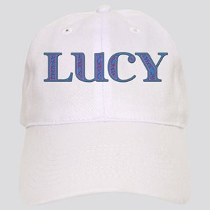 Lucy Blue Glass Cap