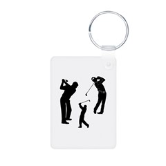 Golf Club Keychains