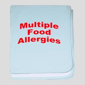 Multiple Food Allergies baby blanket