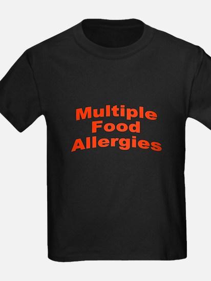 Multiple Food Allergies T