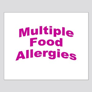 Multiple Food Allergies Small Poster