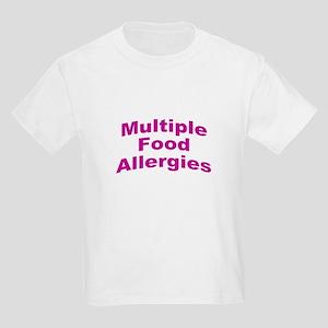 Multiple Food Allergies Kids Light T-Shirt