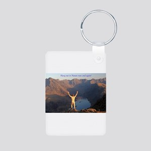 Hang out in Nature Keychains