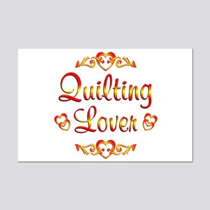 Quilting Lover Mini Poster Print