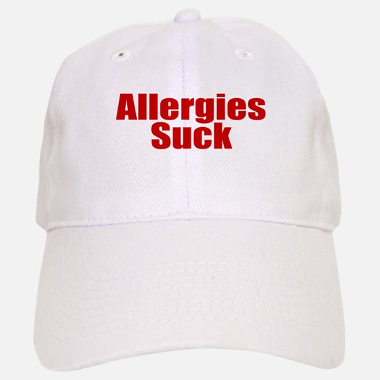 Allergies Suck Baseball Baseball Cap