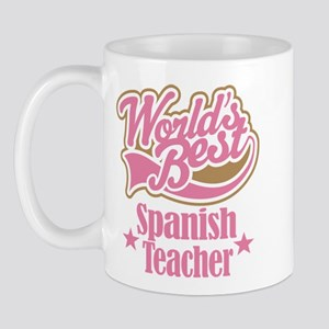 Spanish Teacher Gift Mug