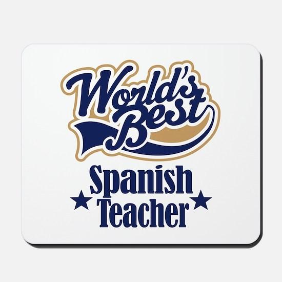 Spanish Teacher Gift Mousepad