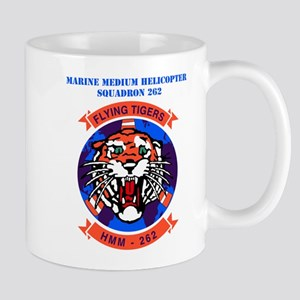 Marine Medium Helicopter Squadron 262 with Text Mu