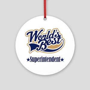 Superintendent Gift Ornament (Round)