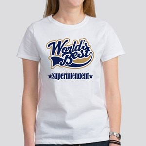 Superintendent Gift Women's T-Shirt