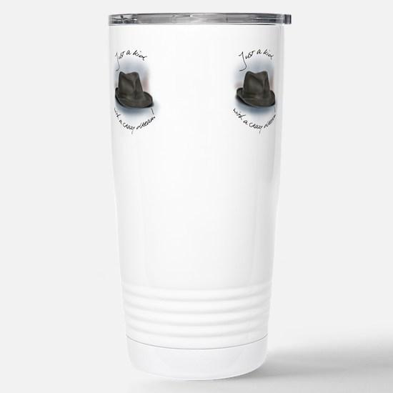 Cute Leonard cohen Travel Mug