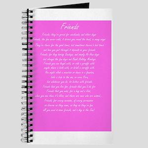 Friends Poem Journal