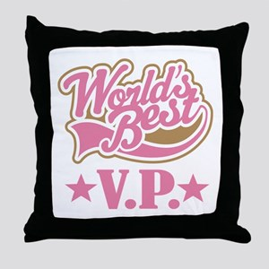 VP Vice President Gift Throw Pillow