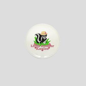 Little Stinker Kaylee Mini Button