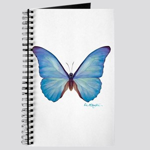 gorgeous blue morpho butterfly Journal