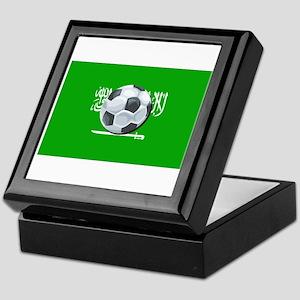 Saudi Arabian Flag Keepsake Box