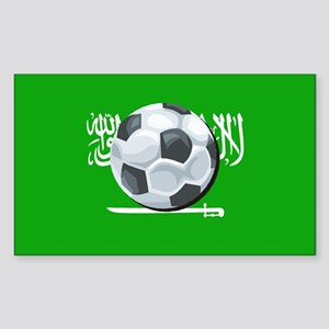 Saudi Arabian Flag Rectangle Sticker